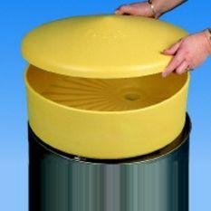 Drum Veiligheidstrechter met Deksel Kunststof HDPE Ø465mm