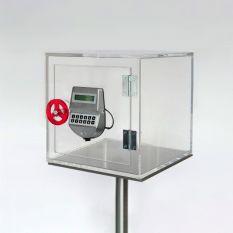 Plexiglas Kluis 300 x 300 x 300mm met gambling lock