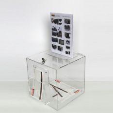Folder Kluis 300x300x300mm met gleuf en slot