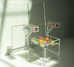Acrylaat stoel