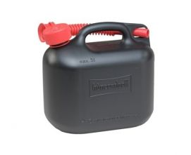 Jerrycan voor brandstof 5 liter | Zwart