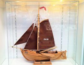 Acrylaat Stofkap voor uw schip hoog model