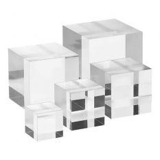 Plexiglas massieve displaykubusset 3x4x5x6x7mm