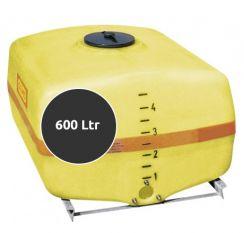 Opslagtank Horizontaal 600 liter