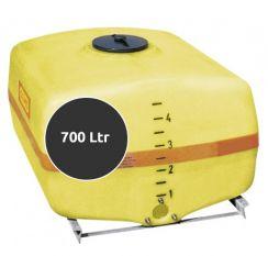 Opslagtank Horizontaal 700 liter (met pompput)