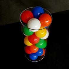 Plexiglas buis Ø150 mm met ballenbak ballen Ø60 mm