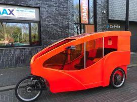 Plexiglas ramen voor fietstaxi