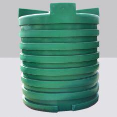 Opslagtank Bovengronds Rond Groen 4000L (Drinkwater)