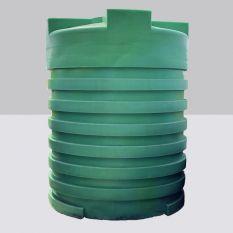 Opslagtank Bovengronds Rond Groen 5000L (Drinkwater)