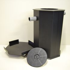 Mobiele Vetafscheider 120 liter