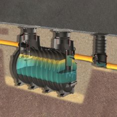 Vetafscheider Euro Basic G NG7 aardinbouw  (1800 liter)